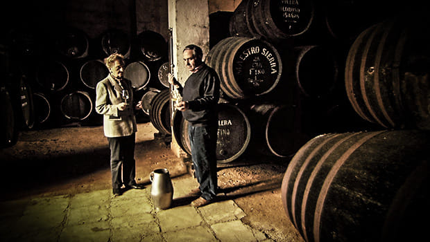 Cata de Maestro Sierra en la Sociedad Jerezana del Vino el 7 de noviembre