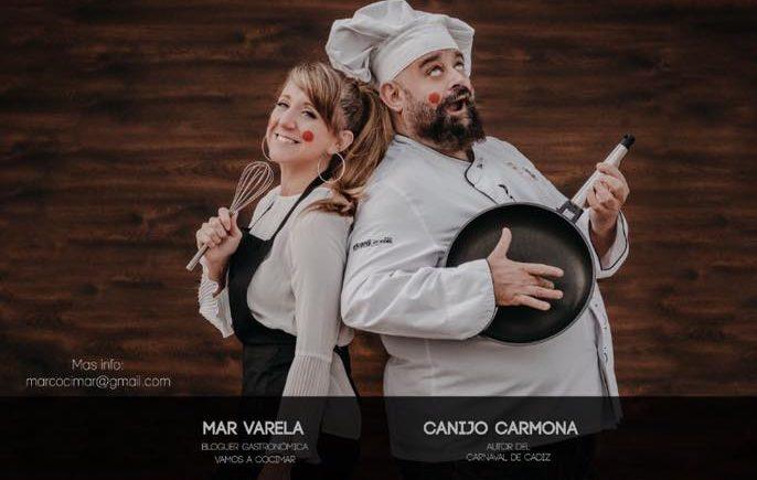 Taller de cocina y Carnaval en Decimoarte con el Canijo de Carmona y Mar Varela