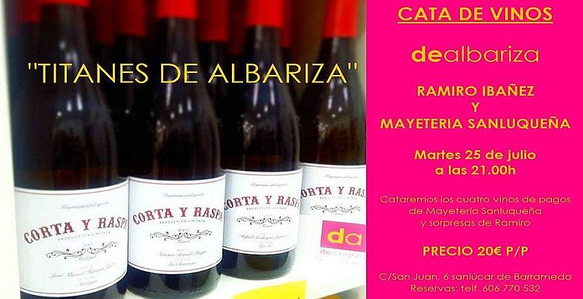 25 de julio. Sanlúcar. Cata de los vinos de la Mayetería Sanluqueña