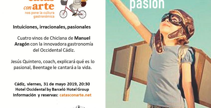 Cata con arte 'Vivir con Pasión' en Cádiz el 31 de mayo