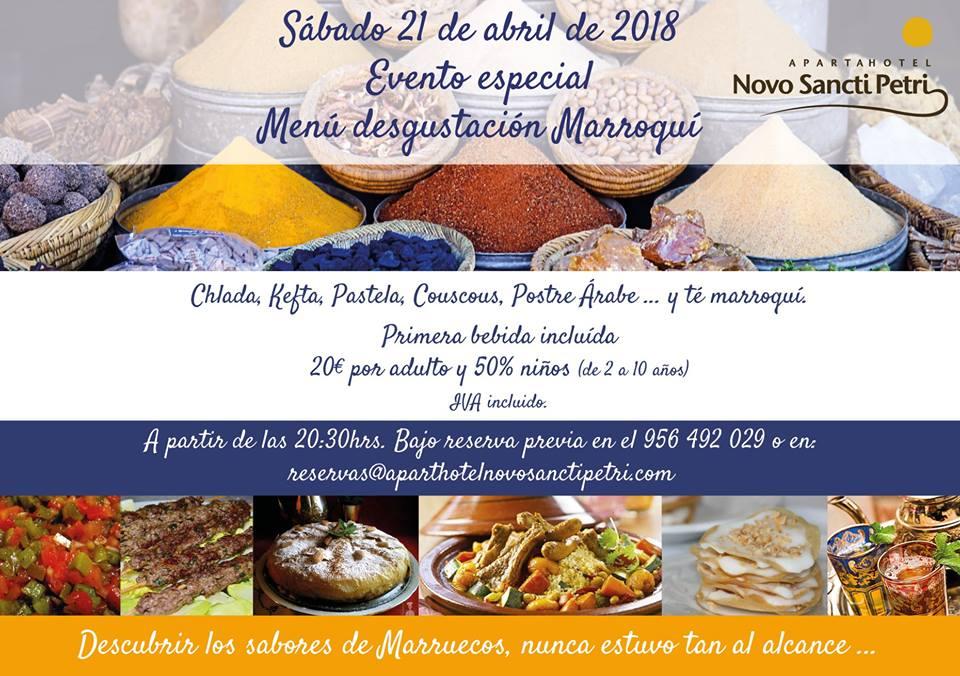 menú degutación marruecos