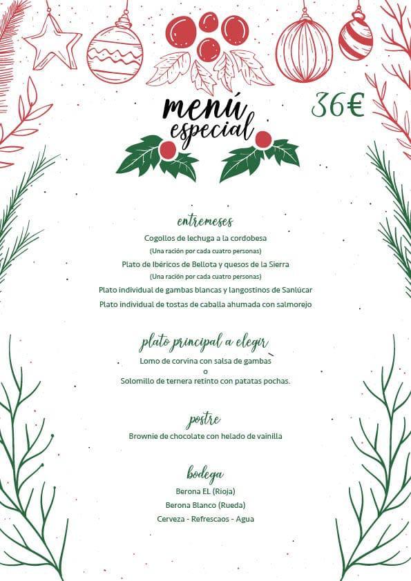 menu 36