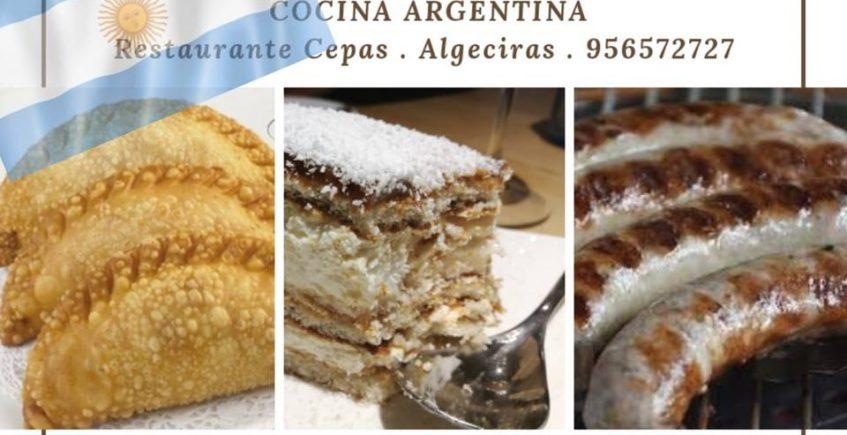 22 de marzo. Algeciras. Menú degustación de cocina argentina en el Restaurante Cepas