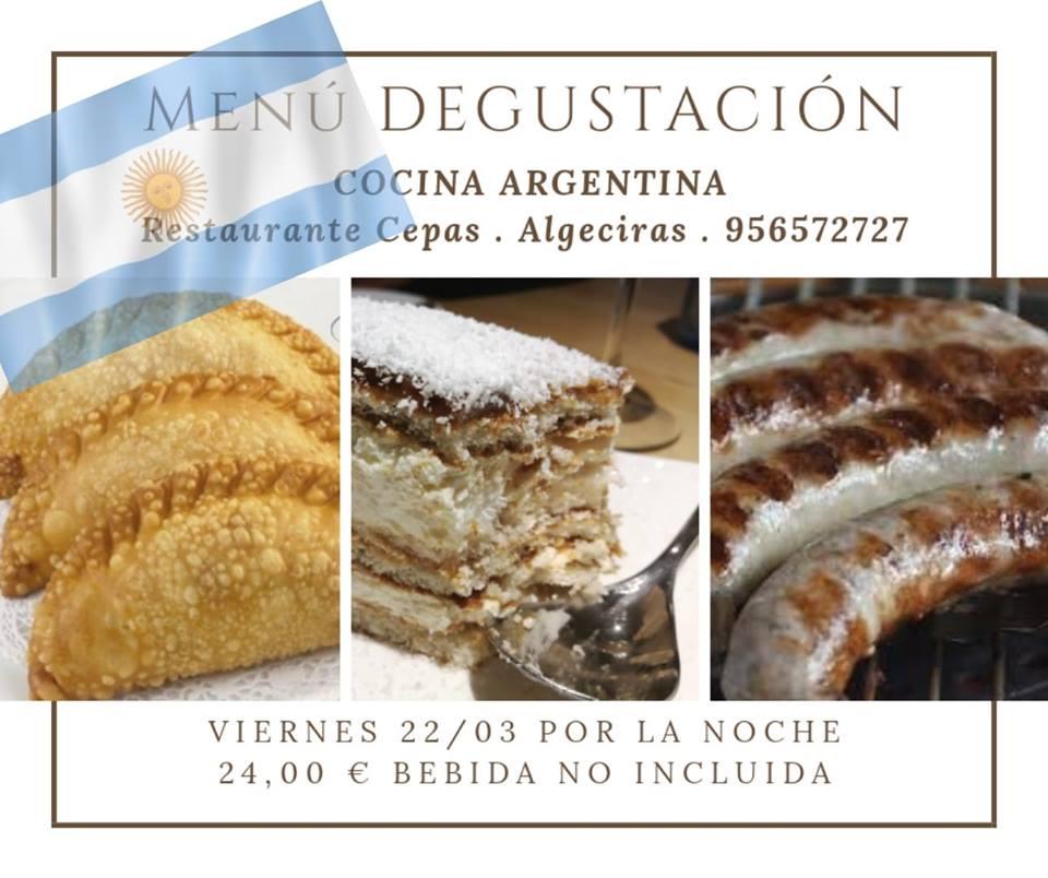 menu argentino