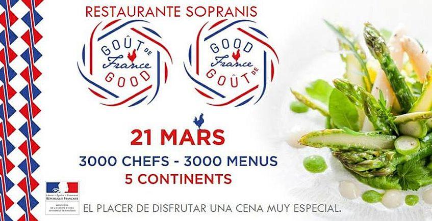 21 de marzo. Cádiz. Cena Gôut de France en homenaje a Paul Bocuse