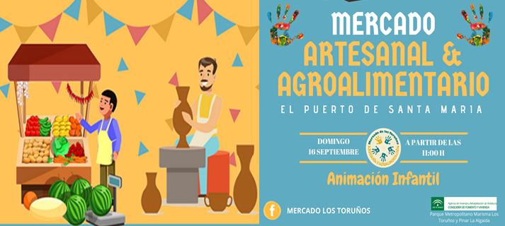 16 de septiembre. El Puerto. Mercado artesanal y agroalimentario.