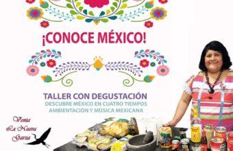 Taller de cocina mexicana con degustación