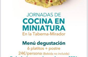 Jornadas de cocina en miniatura en Casa Francisco El de Siempre
