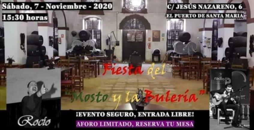 Fiesta del Mosto y la Bulería en El Patio de las 7 Esquinas de El Puerto