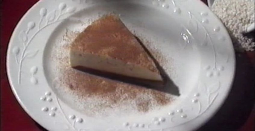 La mousse de arroz con leche del Ventorrillo del Chato