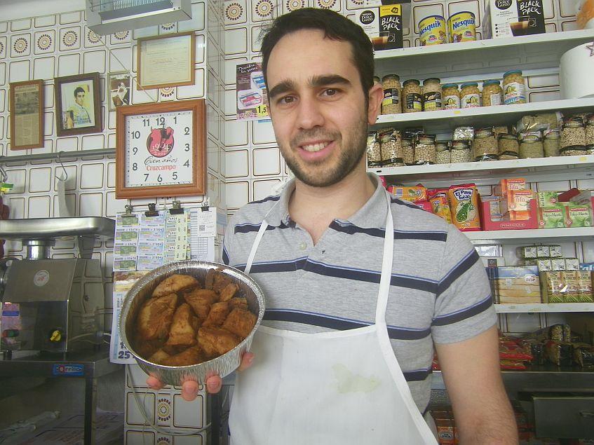 Nicolás Ortega, la quinta generación de la familia en el negocio.
