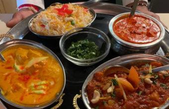 Los platos de Noor Mahal