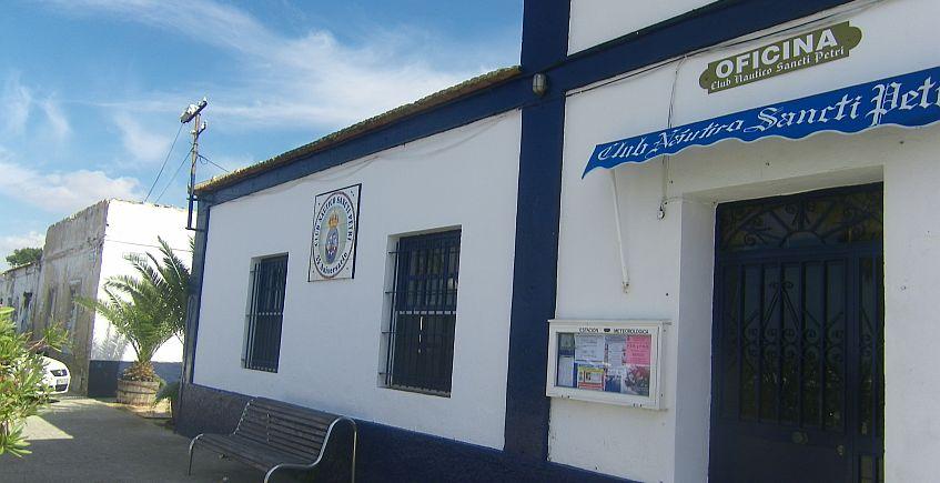 Bar del Club Naútico de Sancti Petri