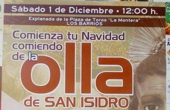 1 de diciembre. Los Barrios. Olla de San Isidro