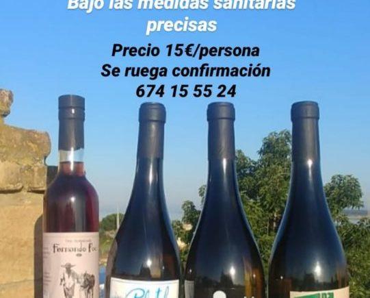 Cata de vinos de José Antonio Palacios en el Chiringuito La Orilla