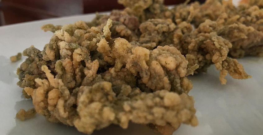 Las ortiguillas fritas del Bar Franchi de Chipiona