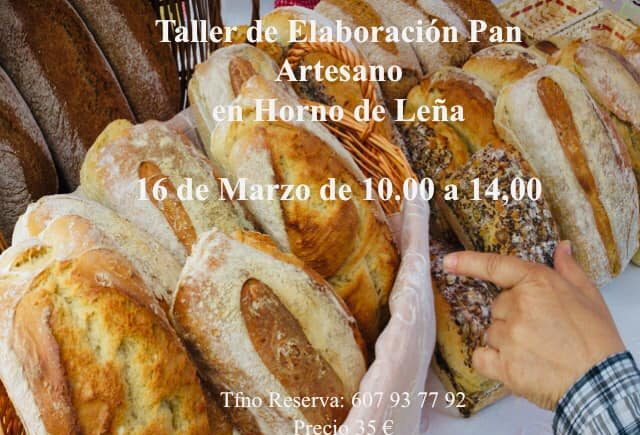 16 y 17 de marzo. Puerto Real. Curso de elaboración de pan