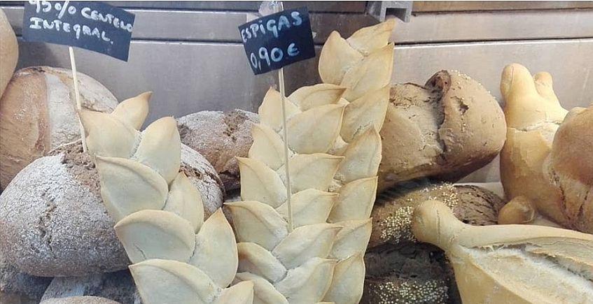 Los panes de Santa María. Foto cedida por el establecimiento.