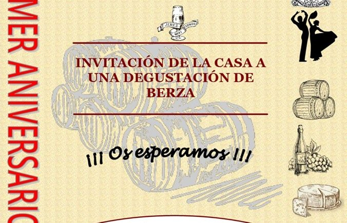 Degustación de berza por el primer aniversario de La Pará de Jerez
