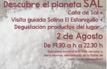 Cata de sal en el Parque Natural Bahía de Cádiz