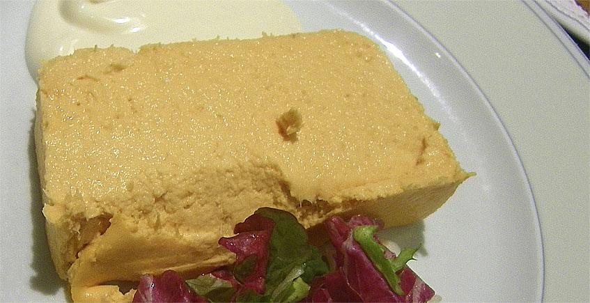 Paté de cabracho (rascacio) del restaurante El Faro