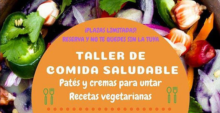 3 de agosto. Chiclana. Taller de comida saludable: Patés y cremas vegetarianas