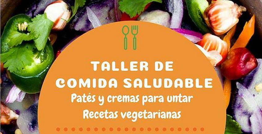 3 de junio. Chiclana. Taller de cocina saludable (Patés vegetales)