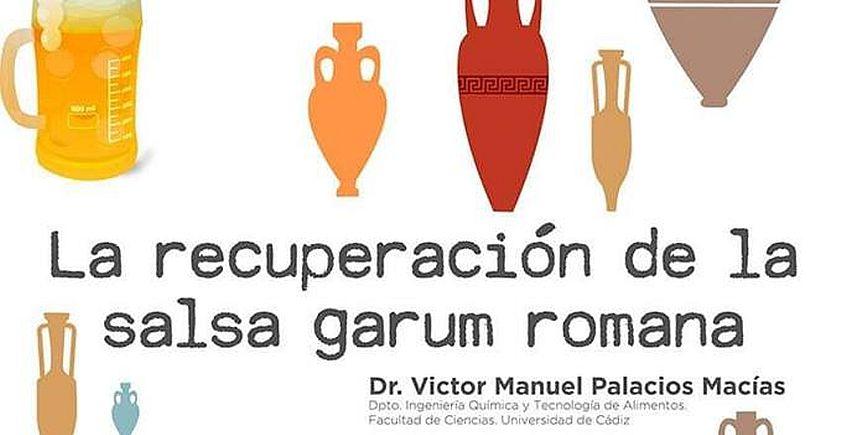 9 de enero. Cádiz. Charla sobre la recuperación de la salsa garum romana