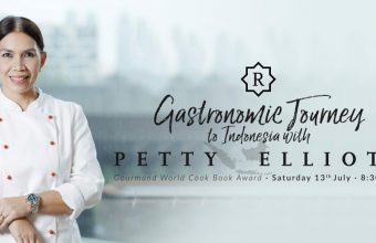 Cena en Sotogrande de la chef indonesia Petty Elliott el 13 de julio
