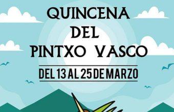 Del 13 al 25 de marzo. El Puerto. Quincena del Pintxo Vasco en La Buena Vida