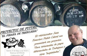 Los vinos de El Piraña de Trebujena, en The Wine Room de San Fernando el 31 de mayo
