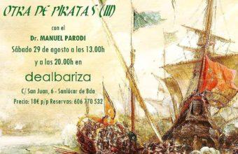 Cata de vinos e historia Otra de Piratas