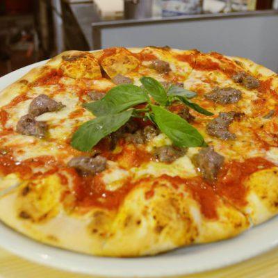Pizza con carne de wagyu. Todas las fotos han sido cedidas por el establecimiento.