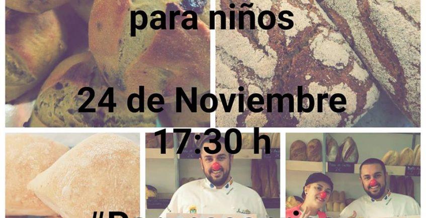 24 de noviembre. San Fernando. Curso de pan para niños