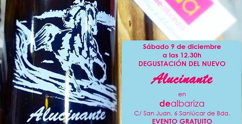 9 de diciembre. Sanlúcar. Degustación del nuevo vino Alucinante
