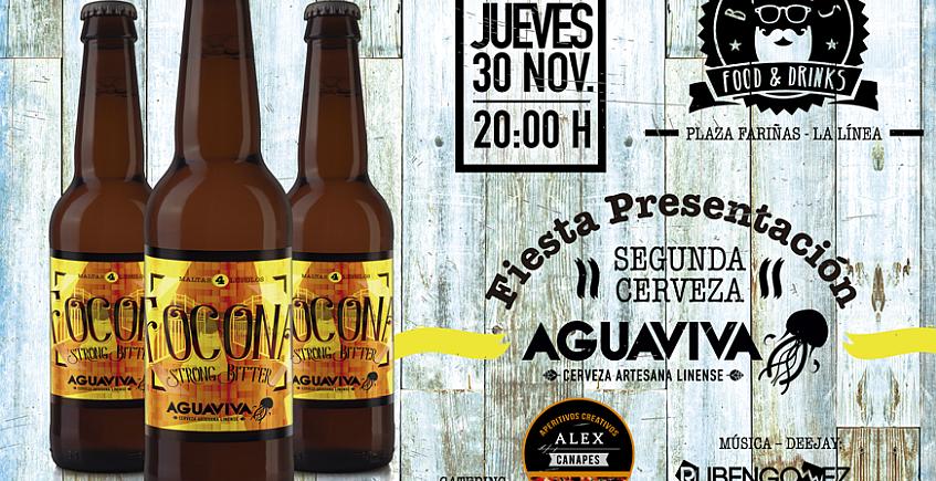 30 de noviembre. La Línea. Presentación de Focona, la segunda cerveza de Aguaviva
