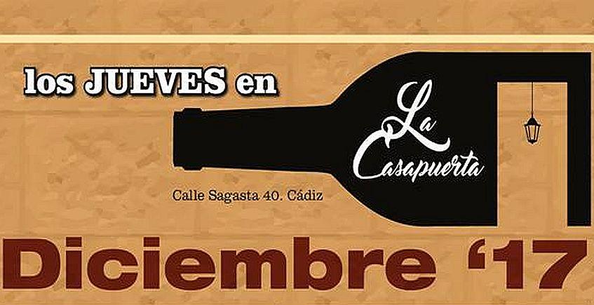 14 de diciembre. Cádiz. Degustación con La Tapería de Lula y Cerveza La Pepa.