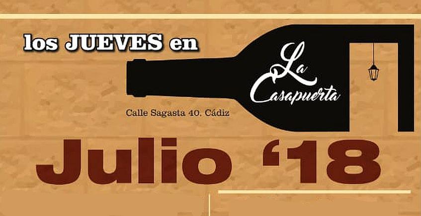 8, 15 y 22 de julio. Cádiz. Domingos en su punto en La Casapuerta