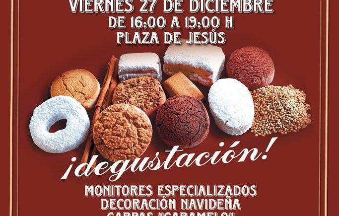 Taller de dulces navideños en Puerto Real