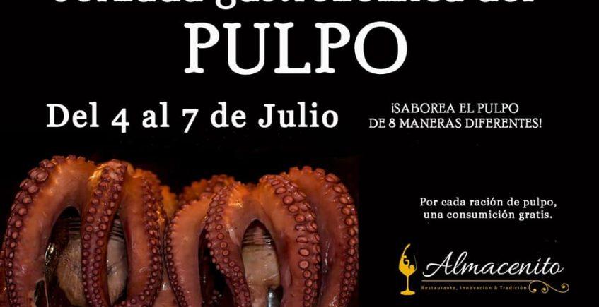 Jornada gastronómica del pulpo en Almacenito de Jerez