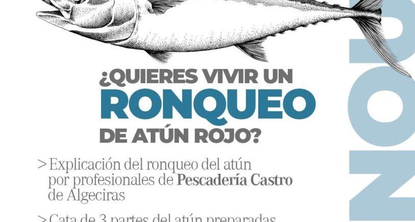Ronqueo de atún rojo en Punta Carnero de Algeciras