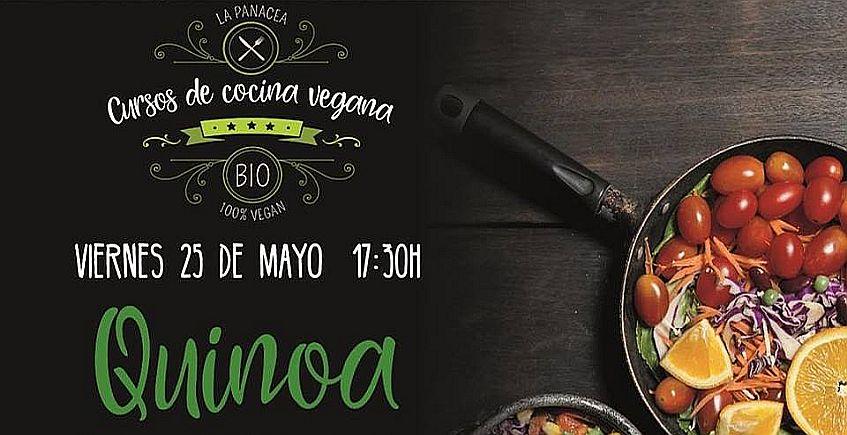 25 de mayo. Jerez. Curso de cocina vegana en Panacea centrado en la quinoa
