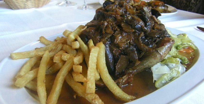 Los platos de caza del restaurante rústico Machin