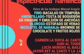 Cata de vinos con maridaje y flamenco en San Fernando