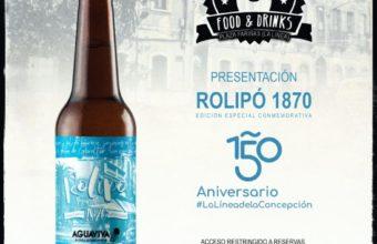 Presentación de la cerveza Rolipó 1870