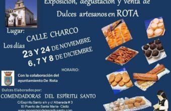 Exposición, degustación y venta de dulces artesanales del Monasterio Espíritu Santo en Rota