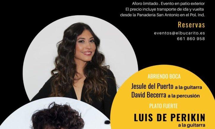 Cena con música en directo en El Bucarito