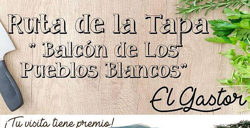 8 a 10 de diciembre. El Gastor. I Ruta de la Tapa 'Balcón de los Pueblos Blancos'