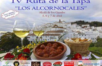 Del 5 al 7 de abril. Alcalá de los Gazules. IV Ruta de la Tapa Los Alcornocales