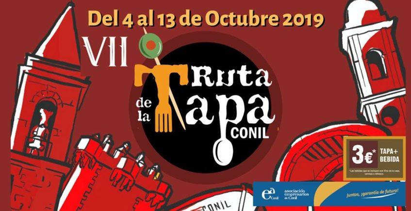 VII Ruta de la Tapa de Conil del 4 al 13 de octubre